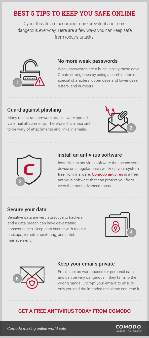 Tips to Secure Online