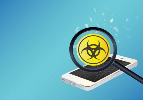 Remove virus from phone
